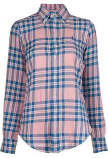 Polo Ralph Lauren Camisa Xadrez Mangas Longas - Azul