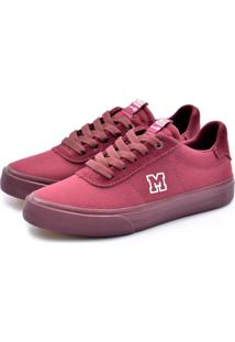 Tenis Mary Jane Sonic Bordo Full Color