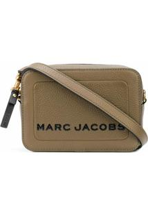 Marc Jacobs Bolsa Transversal The Box - Marrom