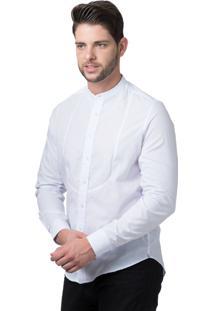 Camisa Alfaiataria Burguesia Stil Gola Padre Branca