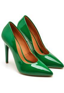 Scarpin Casual Gisela Costa Verde - Verde - Feminino - Dafiti