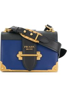 Prada Bols Tiracolo Cahier - Azul