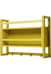 Armario Aereo Gourmet Troia Estrutura Amarelo 86Cm - 61425 - Sun House
