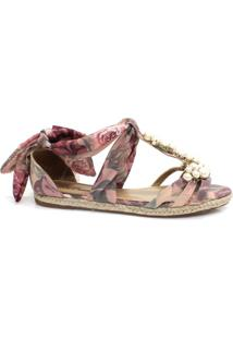 Sandália Zariff Shoes Rasteira Espadrille