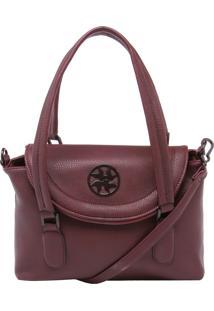 6997b96b8 ... Bolsa Isabella Piu Média Handbag Vinho