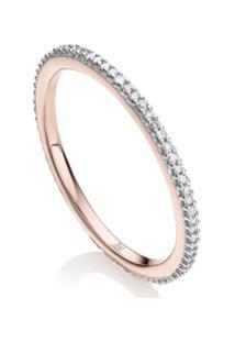 Monica Vinader Rp Skinny Eternity Diamond Ring - Prateado
