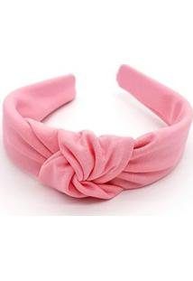 Tiara Amora Mel Turbante Rosa