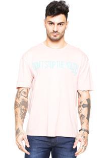 Camiseta Triton Estampada Roxa