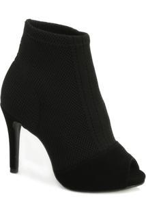 Ankle Boot Bebecê Bc18-7816322 Feminino - Feminino-Preto