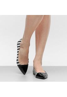 Sapatilha Shoestock Bico Fino Feminina - Feminino