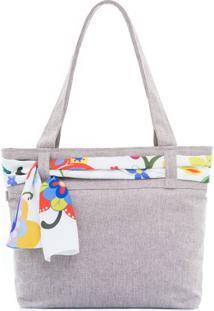 Bolsa Sacola By Grazie Bolsa De Praia Branco