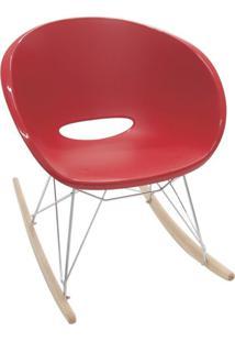 Cadeira Elena Luz Vermelho