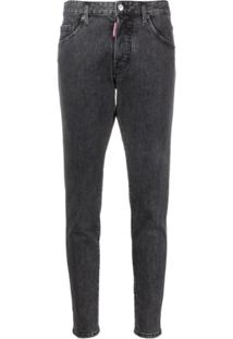 Dsquared2 High-Rise Skinny Jeans - Preto