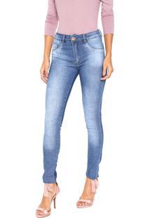 a2173f6c5 ... Calça Jeans Biotipo Skinny Melissa Azul