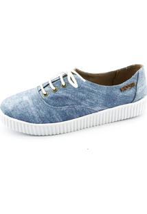 dc9ed70b5a ... Tênis Creeper Quality Shoes Jeans Sola Branca