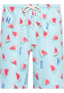 Short Masculino Watermelon - Azul