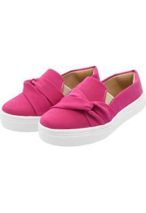 Tenis Hope Shoes Slipper Com Laço Cruzado Pink - Kanui