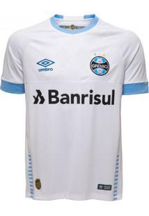 Camisa Masculina Umbro Grêmio Oficial 2 2018 (Game)