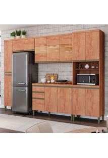 Cozinha Compacta Chardonnay Ii 13 Pt 2 Gv Castanho
