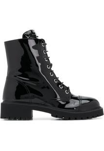 Giuseppe Zanotti Ankle Boot Thora Com Salto 15Mm - Preto