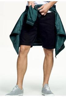 Bermuda Chino Masculina Hering Em Tecido De Algodão