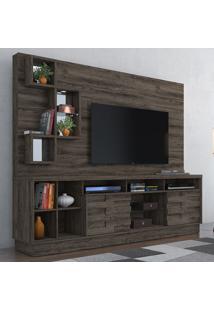 Estante Para Tv 2 Portas Heitor 633025 Vulcano - Madetec