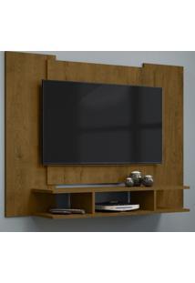 Painel Para Tv Zeus Até 48 Polegadas - Malbec Fosco - Rpm Móveis