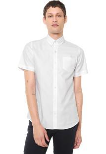 Camisa Lacoste Regular Bolso Branca