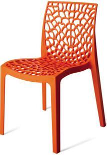 Cadeira Gruver Polipropileno Laranja - 15117 - Sun House