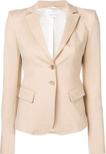 Patrizia Pepe Fitted Blazer - Neutro