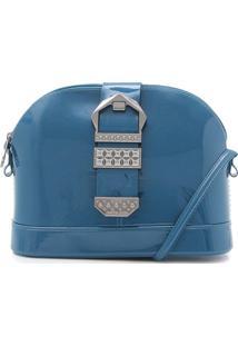 Bolsa Petite Jolie Metal Azul