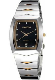 Relógio Weiqin Analógico W0045Bg - Feminino-Preto