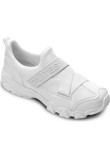 Tênis Skechers D'Lites 2 Feminino - Feminino-Branco