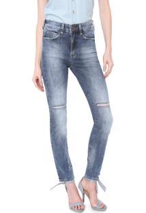 Calça Jeans Carmim Slim Alemanha Azul