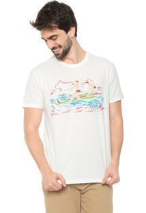 Camiseta Reserva Surf Off-White