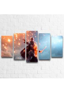 Quadro Decorativo Battlefield