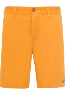 Bermuda Masculina New Color - Amarelo