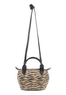 Bolsa Shoulder Mini Tigre - Tigre/Un