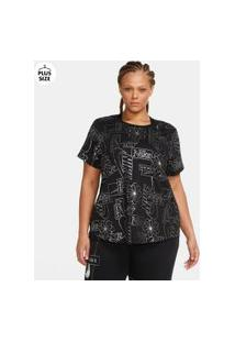 Plus Size - Camiseta Nike Sportswear Icon Clash Feminina