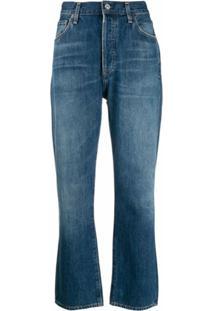 Citizens Of Humanity Calça Jeans Bootcut Cintura Alta - Azul