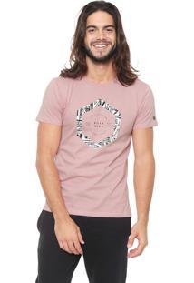 Camiseta Billabong Access Border Rosa