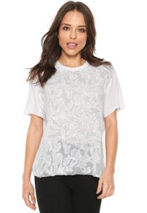 Camiseta Carmim Garden Off-White