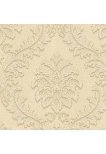 Papel De Parede Texturizado- Amarelo Pastel- 1000X52Shark Metais