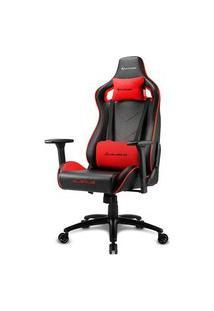 Cadeira Gamer Sharkoon Elbrus 2, Black Red