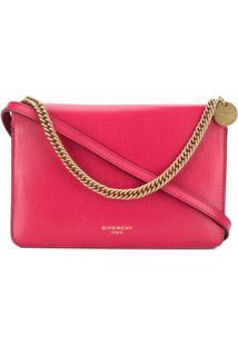 Givenchy Bolsa Transversal Cross3 - Rosa