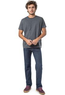 Calça Jeans Reta Basic New Stone New