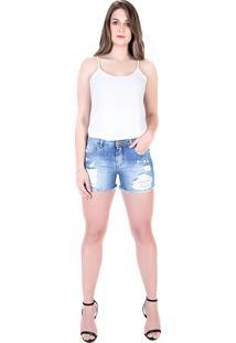 Bermuda Latreille Confort Jeans Claro