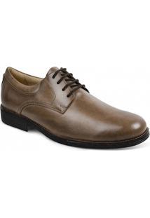Sapato Social Masculino Derby Sandro Moscoloni Tomp Marrom Claro
