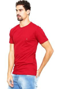 Camiseta Polo Wear Logo Vermelha