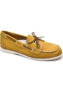 Mocassim Top Franca Shoes Casual Masculino - Masculino-Amarelo